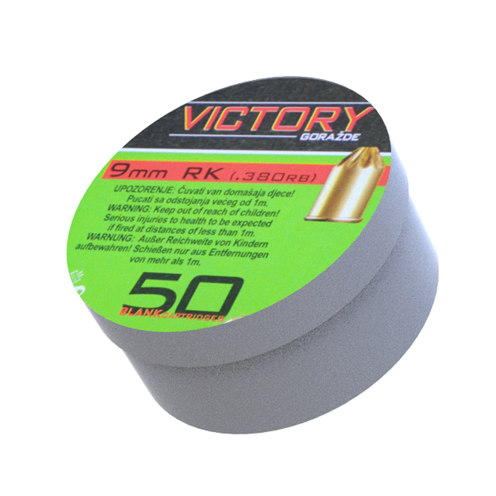 25118- CARICHE A salveVICTORY cal 380 mm/ 9 mm RK- –