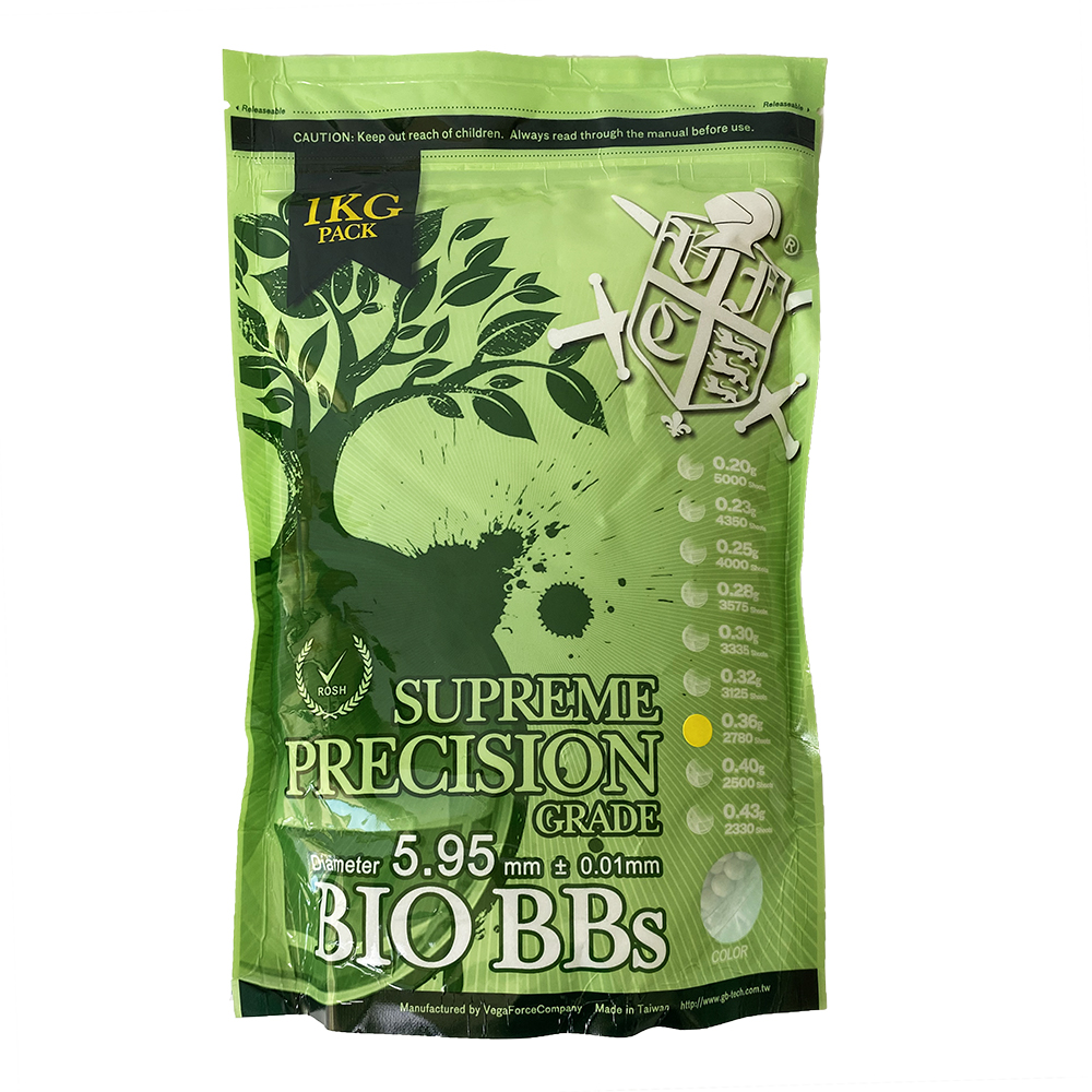 0.36g Bio BB White(1kg Stand Up Pouch) 2780R (1 bag)